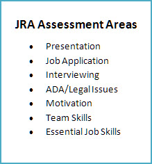 JRA Assessment Areas